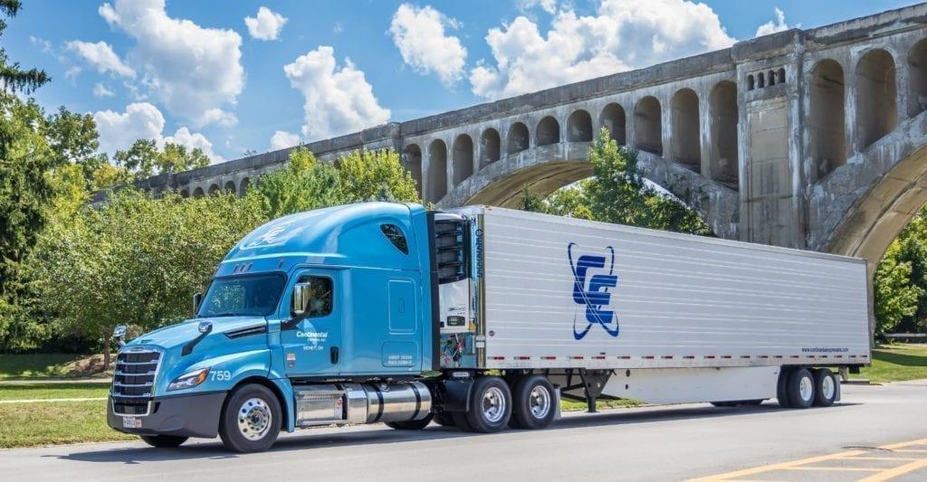 Continental Express truck